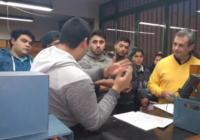 Prácticas en los laboratorios del Colegio Pablo Nogues