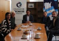 Reunión con el Colegio de Técnicos de Mendoza
